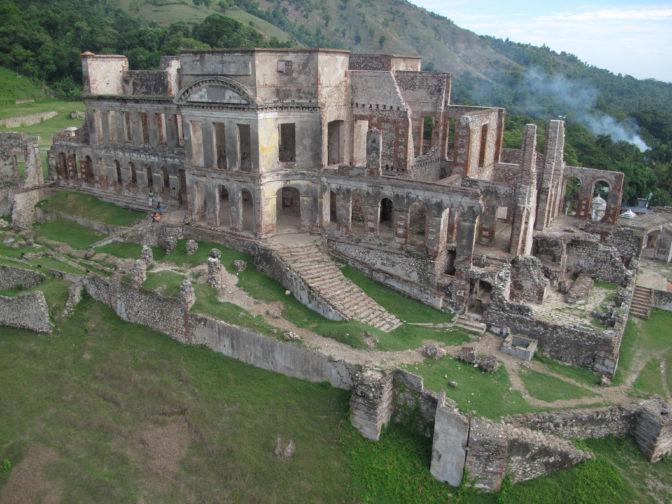 Une merveille architecturale: le palais Sans Souci (Haïti)