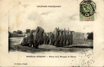 Ruines de la grande mosquée de Djenné