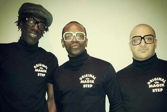 Le trio Magic Step