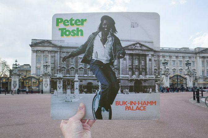 A la recherche des lieux des couvertures de disques de Reggae
