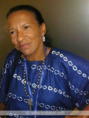 """Ama Mazama, docteur en linguistique et auteure notamment de """"l'impératif afrocentrique"""""""