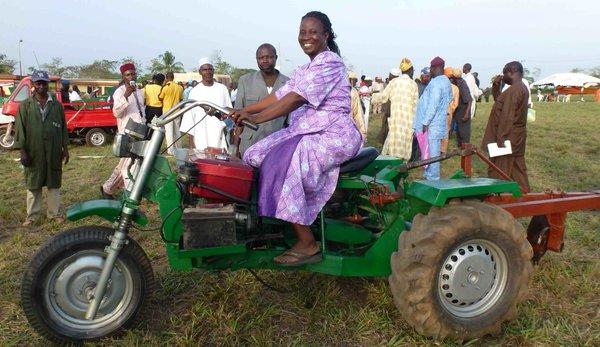 Tryctor, l'invention d'un Nigérian pour aider les petits agriculteurs