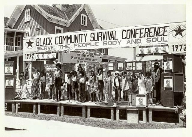 Les programmes de survie du Black Panther Party