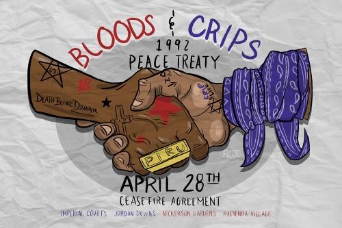 La trêve de Watts de 1992 : Quand Bloods et Crips s'unissaient contre le chaos