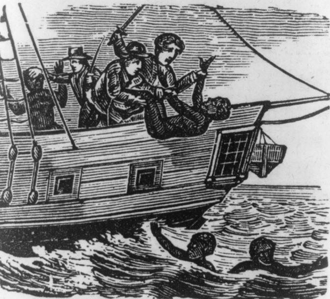 Le suicide en mer comme résistance à la traite négrière