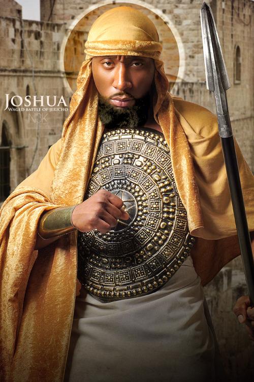Josué, vaincoeur de la bataille de Jericho