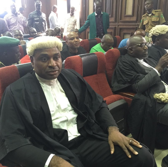 Kenneth Okonkwo nie être l'avocat de Nnamdi Kanu, militant pro-Biafra