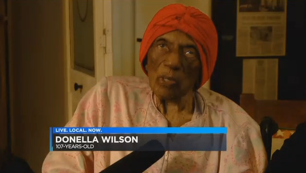 A 107 ans, cette fille d'esclaves afro-américains va voter
