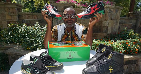 Une entreprise détenue par un afro vend 250 000$ de chaussures en neuf mois d'activité