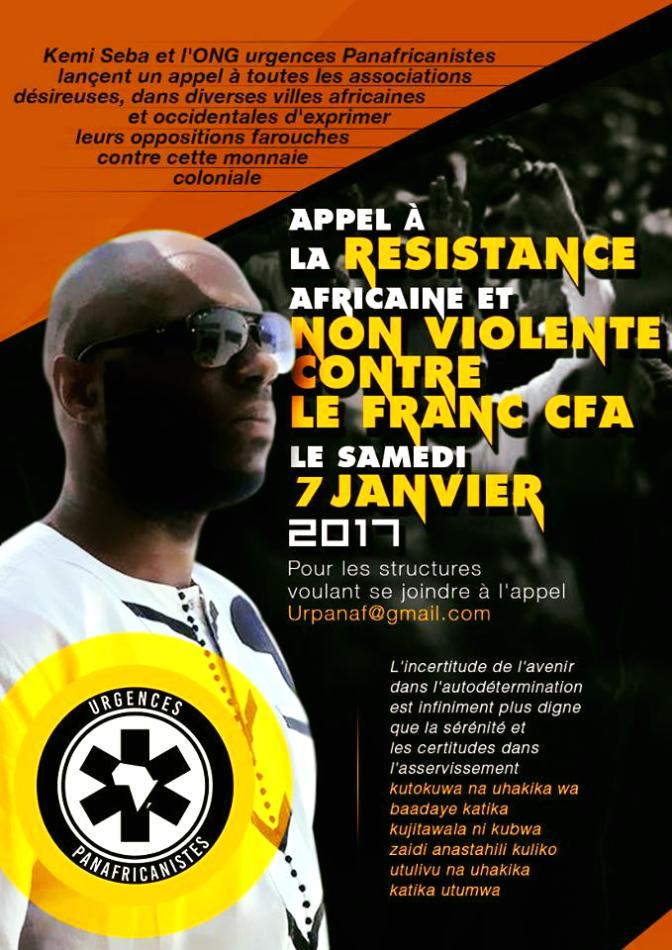 Front historique contre le Franc CFA: l'Afrique et sa diaspora en position de combat