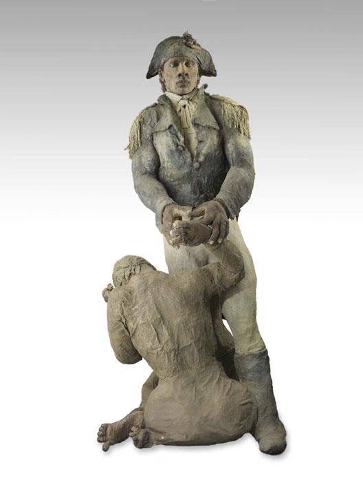 toussaint-louverture-et-la-vielle-esclave
