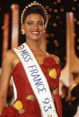 Véronique De La Cruz, première Miss France noire de l'histoire