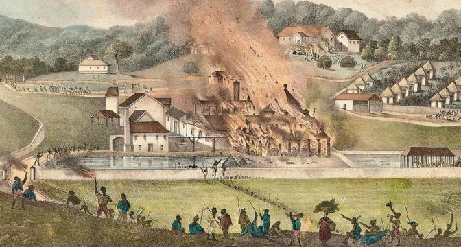 La «Rébellion de Noël» ou la grande révolte des esclaves jamaïcains