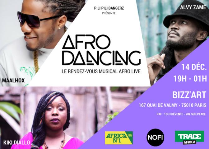 Afro dancing 2: le rendez-vous afro live revient à Paris !