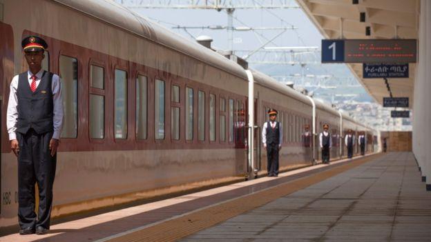Inauguration officielle du Chemin de fer Djibouti-Éthiopie