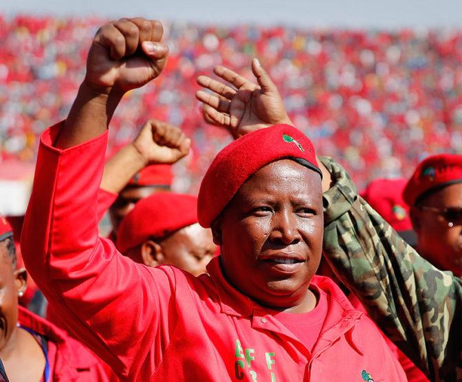 Malema appelle Mugabe 'Pépé' et lui demande de quitter le pouvoir