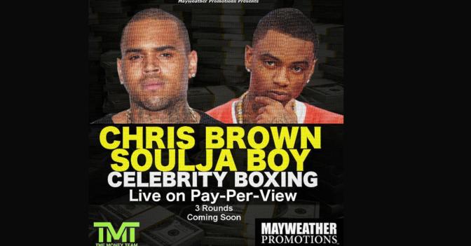 Chris Brown & Soulja Boy s'affronteront à la TV sur un ring de boxe