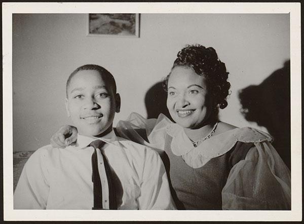 Mamie et Emmett Till