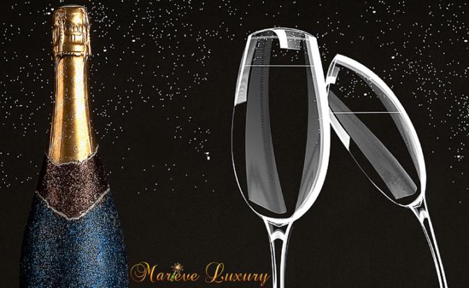 Chez «Mariève Luxury»,  personnalisation artisanale de bouteilles de champagne