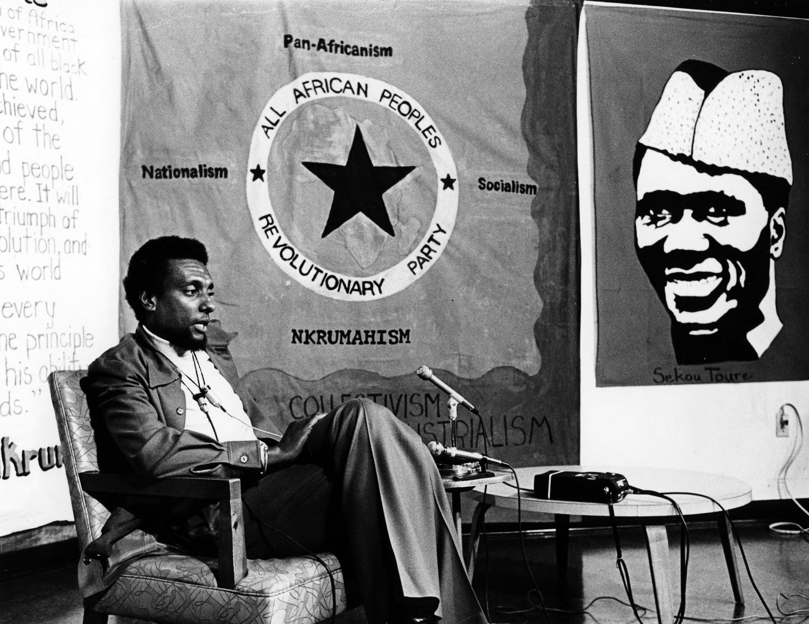 Stokely Carmichael (Aka Kwame Toure) leader du A-ARPP