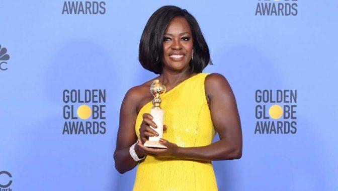 Viola Davis remporte son premier Golden Globe avec le film «Fences»