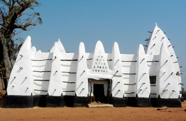 Mosquée médiéval de Larabanga au Ghana