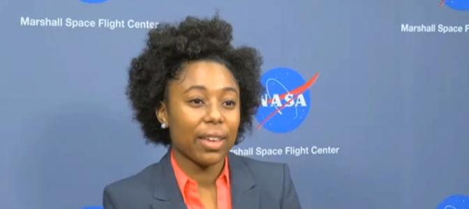 A 22 ans, Tiera Guinn est ingénieure à la NASA