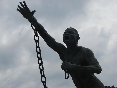 Statue en l'hommage de Benkos