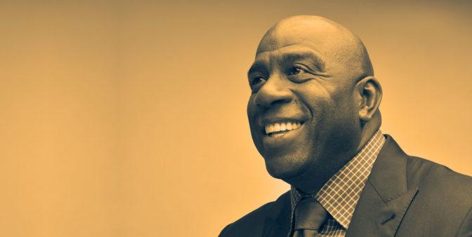 'Magic' Johnson dirigera les Los Angeles Lakers