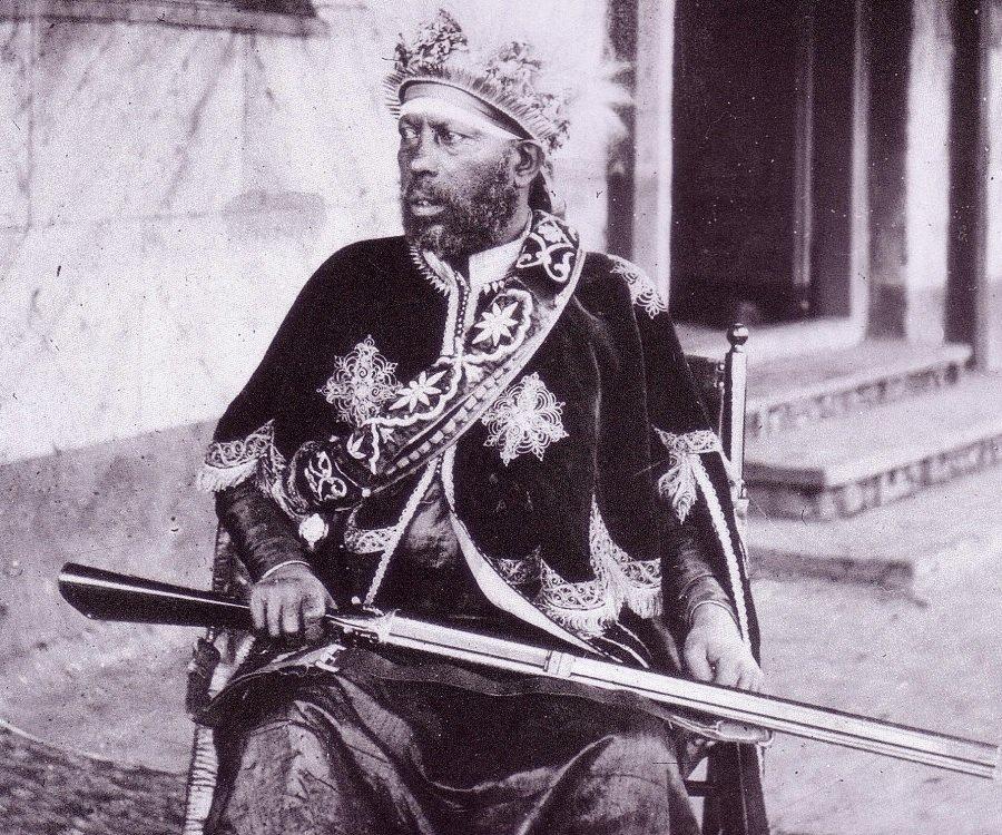 Ménélik II d'Abyssinie