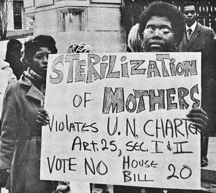La stérilisation des Noirs dans l'histoire américaine