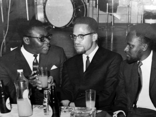 Malcolm X au Ghana en 1964