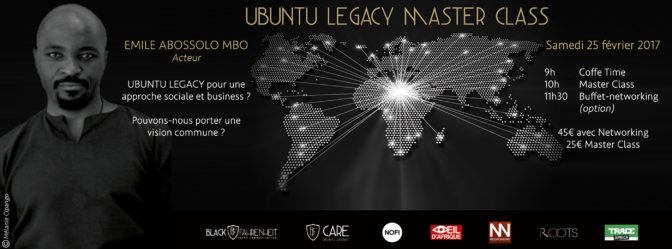 Ubuntu legacy Master Class: les valeurs ancestrales africaines au coeur de l'entrepreneuriat