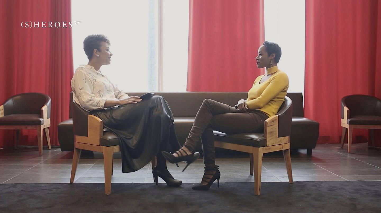 Fati Niang interviewée par Cathy Thiam pour Sheroes TV