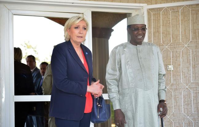 Marine Le Pen au Tchad réitère son opposition au franc CFA