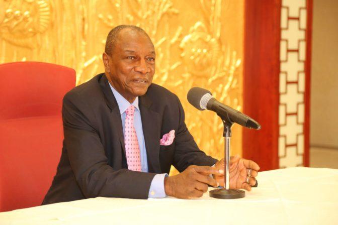 Le Président guinéen contre l'Union Africaine, selon lui un suppôt du néocolonialisme