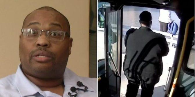 Un chauffeur de bus sauve une femme du suicide