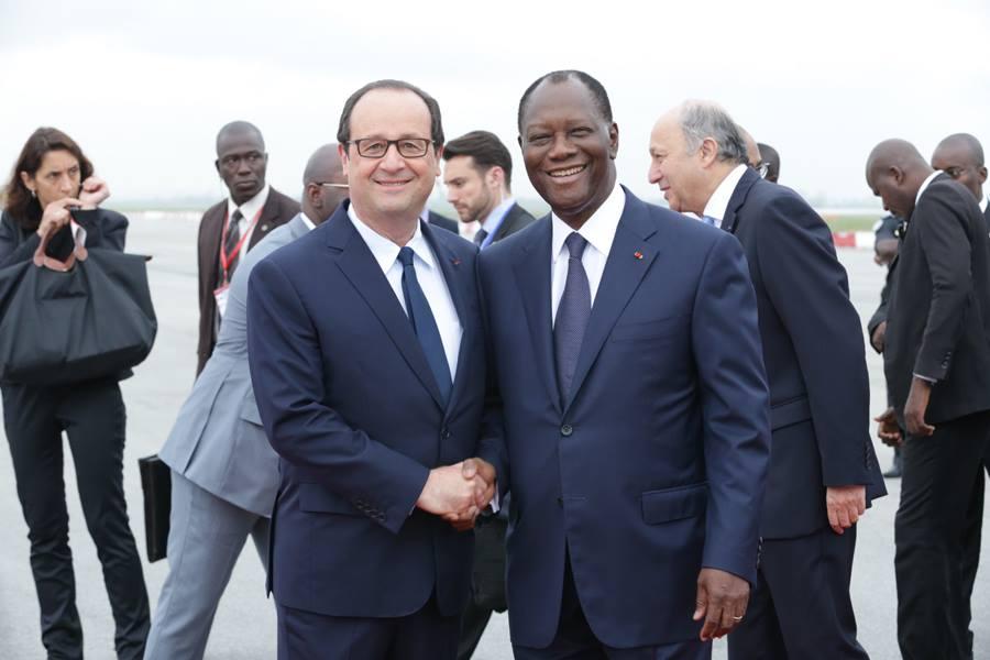 Hollande et Ouattara (cocontractants de l'impérialisme ?)