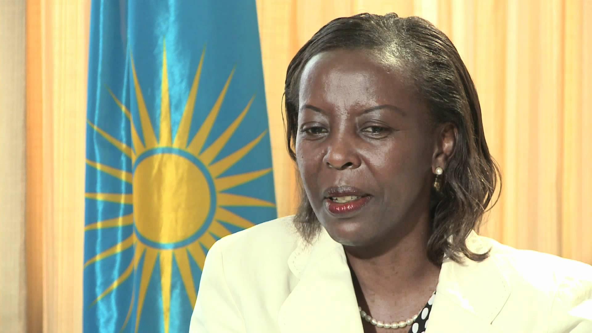Louise Mushikiwabo, ministre des affaires étrangère et porte-parole du Gouvernement rwandais depuis 2009.
