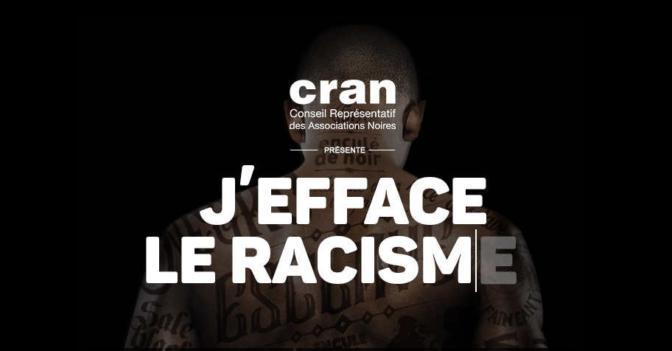 «J'efface le racisme» une initiative afro pour éveiller les consciences