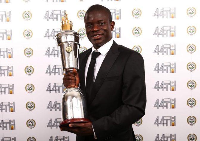 N'Golo Kanté élu meilleur joueur du championnat anglais