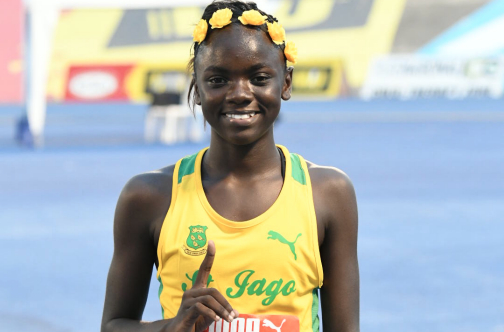A 12 ans, Brianna Lyston est présentée comme la nouvelle Usain Bolt