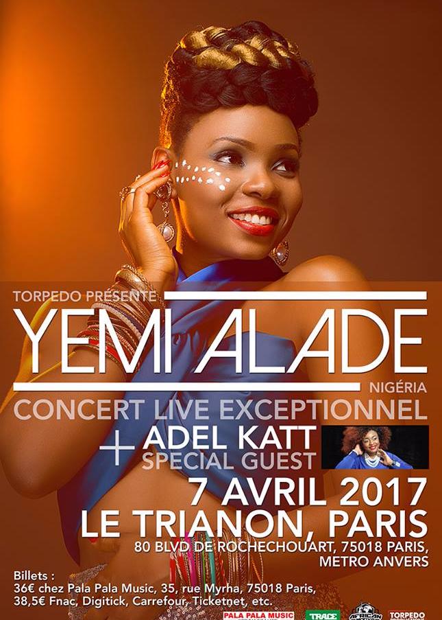 [Jeu-Concours] Gagnez vos places pour le concert de Yemi Alade le 7 avril !