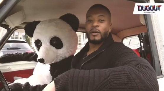Patrice Evra lance une campagne antiraciste 'Be a Panda'