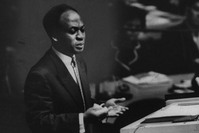Discours de Kwame Nkrumah à la conférence internationale des états indépendants d'Afrique