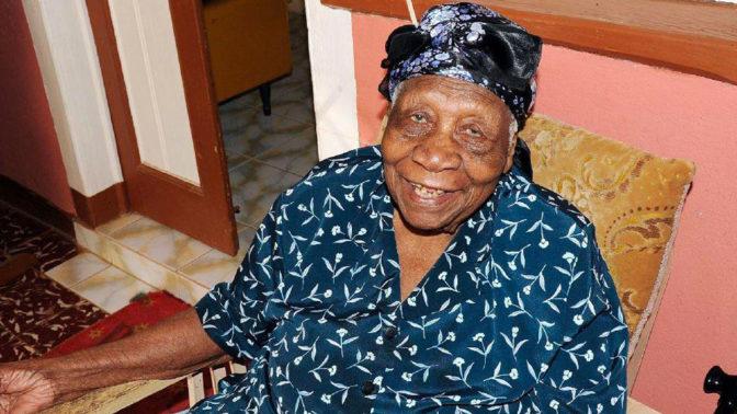 Agée de 117 ans, la doyenne de l'Humanité est jamaïcaine