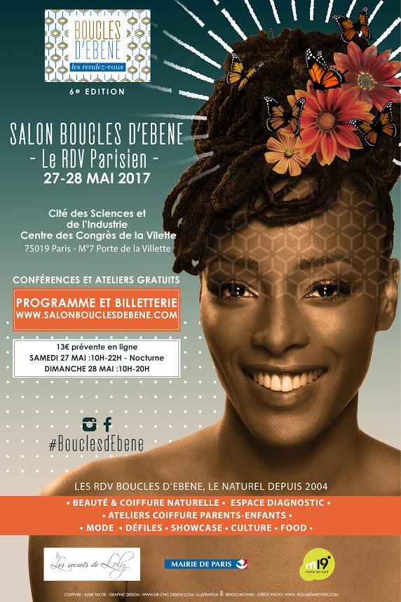 [Jeu-Concours] Gagnez vos places pour le Salon Boucles d'Ébène le 27 et 28 mai 2017