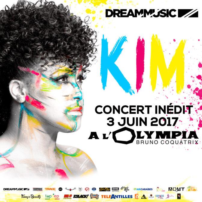 [JEU-CONCOURS] Kim en concert à l'Olympia le 3 juin !
