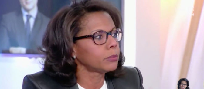 Audrey Pulvar émue aux larmes en évoquant «la menace» FN