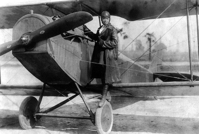 Bessie Coleman, première aviatrice afro-américaine